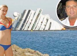 """Costa Concordia: """"Yo era la amante del capitán y esa noche estaba con él"""""""