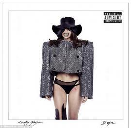 Así aparece Lady Gaga en la tapa de su nuevo disco