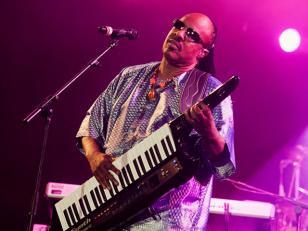 Stevie Wonder se presentó por primera vez en Argentina