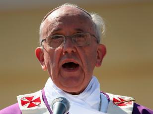"""El papa rinde homenaje a Mandela por haber creado """"una nueva Sudáfrica"""""""