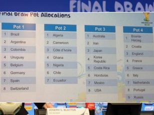 Argentina conocerá hoy a sus rivales en el Mundial de Brasil 2014