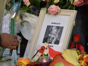 Preparativos para el funeral de Nelson Mandela