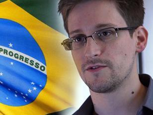 Snowden ofrece cooperar con Brasil a cambio de asilo político