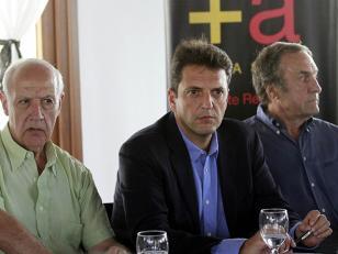 Massa presentó el armado político nacional del Frente Renovador