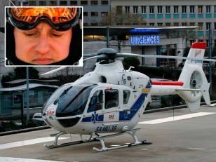 """Schumacher tiene """"riesgo de vida"""" tras el accidente"""