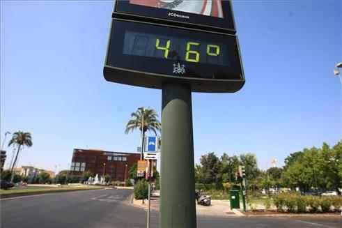 La térmica ya superó los 46 grados 1
