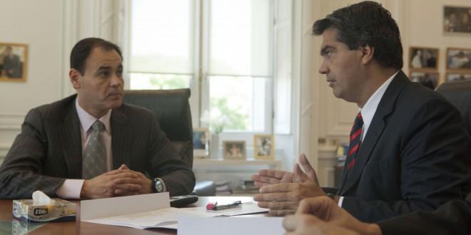Capitanich mantuvo diversas audiencias en la Casa de Gobierno
