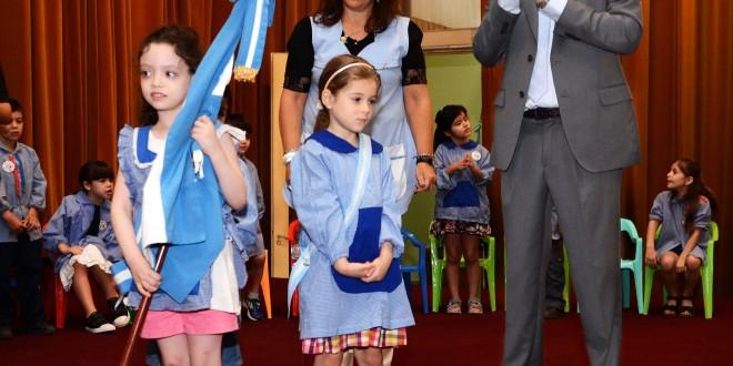 Rossi participó del acto de fin de ciclo del Jardín Maternal N 5