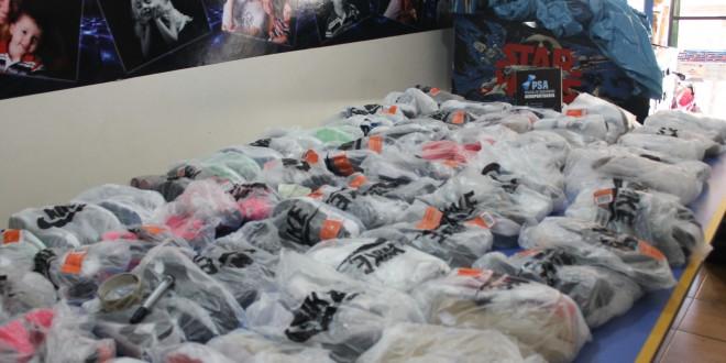 Secuestran prendas de vestir de contrabando