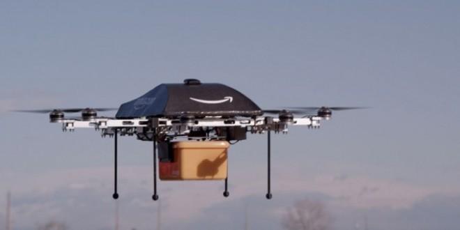 Amazon utilizará drones para entregar sus pedidos