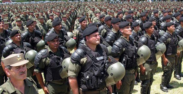 Llegan a Córdoba 1.200 efectivos de Gendarmería Nacional