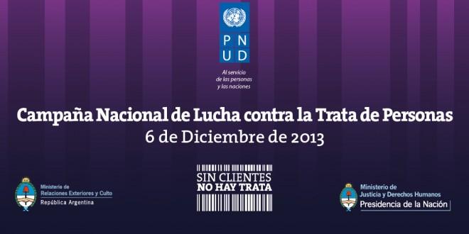 Se realizó la campaña nacional de lucha contra la trata de personas