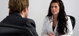 Gestos que no deben hacerse en una entrevista de trabajo