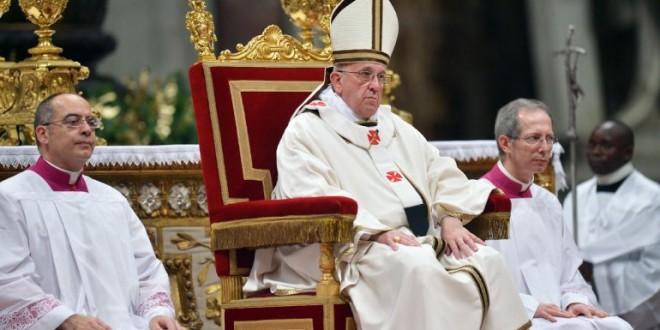 El papa Francisco pidió a los fieles no tener miedo y desterrar el odio