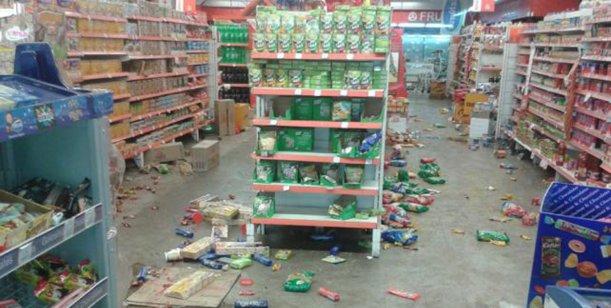 Saqueos y muerte llegaron en el Gran Buenos Aires