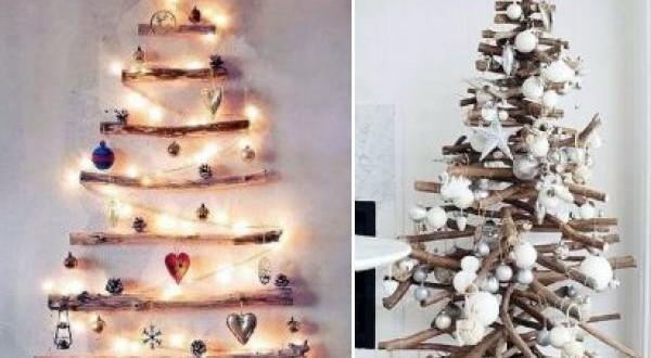 Nuevo Arbol De Navidad Natural Artesanal Reciclado - Arbol-de-navidad-artesanal