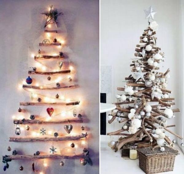Nuevo rbol de navidad natural artesanal reciclado - Arbol de navidad artesanal ...