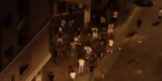 Video: vecinos atrapan y linchan a saqueador en Córdoba 2