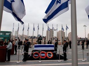 Israel rinde homenaje a Ariel Sharon