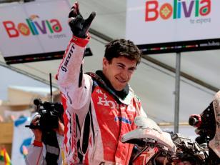 Dakar-2014: Barreda ganó en la primera etapa en Bolivia