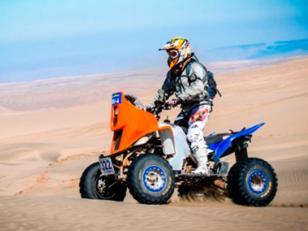 Encuentran un cuatriciclo del Dakar en un domicilio particular