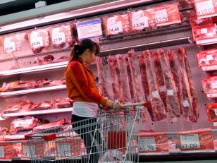 La carne aumentó más del doble en 2013 que en 2012