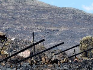 Incendio en Tornquist y se propaga hacia Saavedra y Coronel Suárez