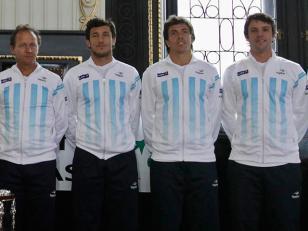 Copa Davis: Este es el equipo que enfrentará a Italia
