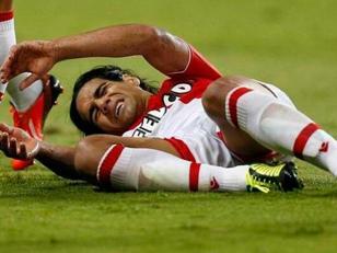 Falcao se rompió un ligamento