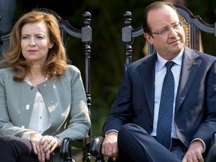 François Hollande anunció su separación