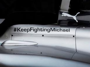 El emotivo mensaje de Mercedes a Schumacher: #KeepFightingMichael