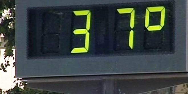La máxima llegaría hoy a los 37 grados 2