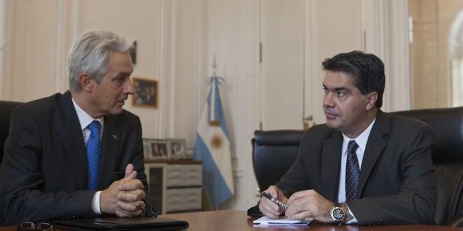 Capitanich se reunió con el CEO de Acindar
