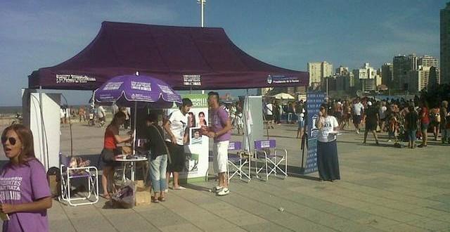 Campaña contra la trata de personas en Mar del Plata