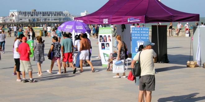 Campaña en la costa concientiza sobre trata