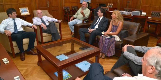 Casamiquela recibió al presidente de la Sociedad Rural de Córdoba