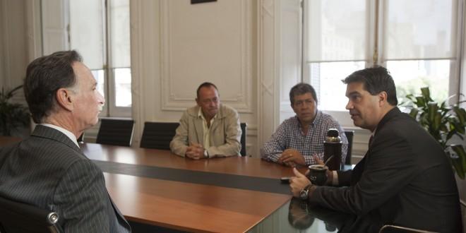Jorge Capitanich recibió al titular de la CGT