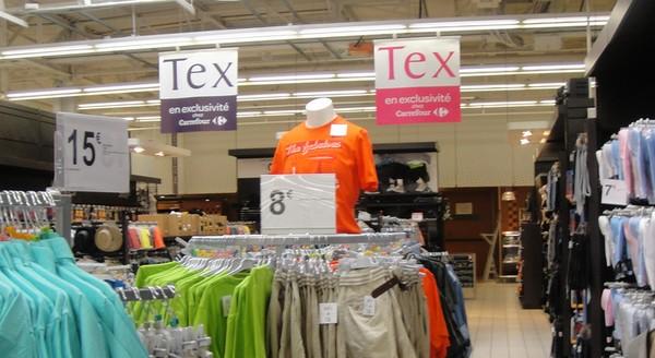 Carrefour rebajas con Tex