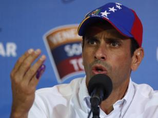 Capriles desafía a Maduro a mostrar pruebas de plan de golpe de estado en Venezuela