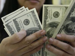 """El dólar """"blue"""" sigue bajando"""