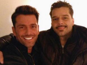 El novio uruguayo de Ricky Martin