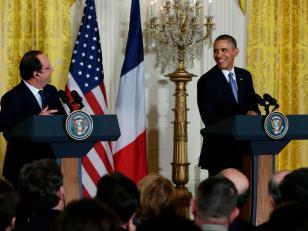 Barack Obama y Francois Hollande se comprometieron a afrontar desafíos globales