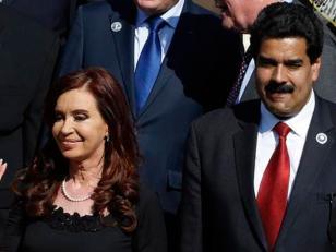 """Argentina salió a respaldar al presidente Maduro tras el """"intento de desestabilización"""""""