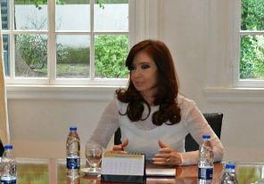 Agenda de la Presidenta en la residencia de Olivos