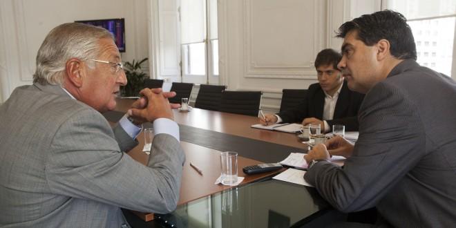Capitanich recibió al gobernador de Jujuy