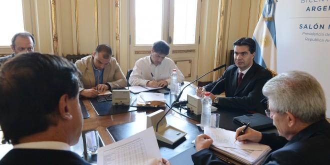 Capitanich se reunió con directivos de exportadoras de granos