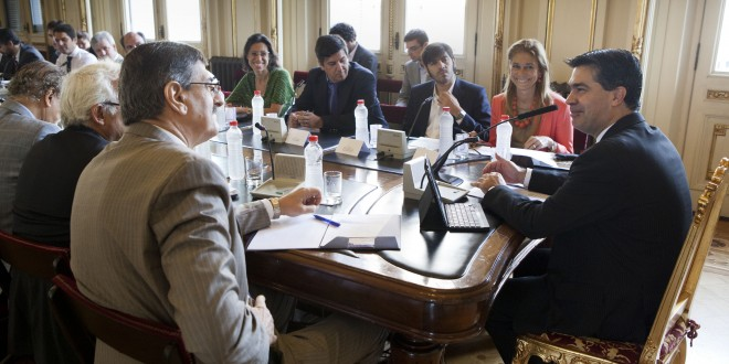 Reunión con representantes de la Industria Naval Mercante