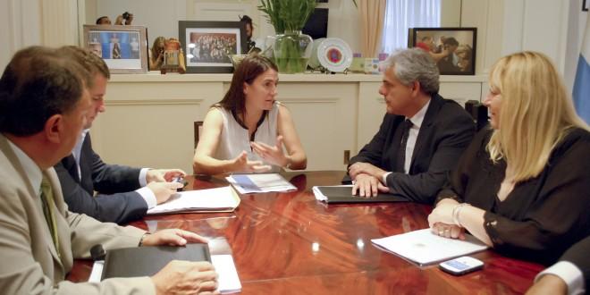 La ministra de Seguridad se reunió con su par de La Rioja