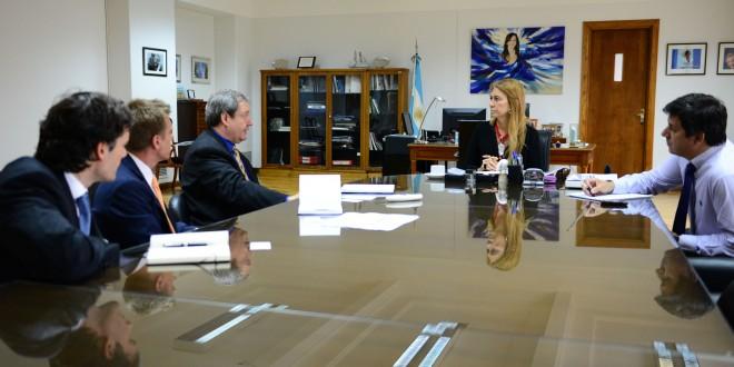 Multinacional finlandesa ratificó a Giorgi su interés en continuar con su plan de inversiones en Argentina