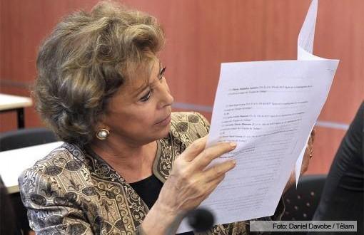 Ratifican que sigue el juicio contra María Julia Alsogaray